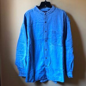 Men's Faded Glory denim shirt size XL